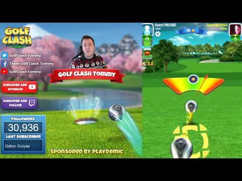 Golf Clash tips, Hole 4 - Par 4, Juniper Point - Gridiron Tournament - ROOKIE Guide