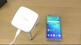 Puridea Portable Wireless Mini Projector- Review