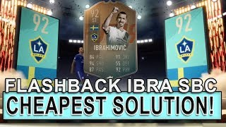 FLASHBACK ZLATAN IBRAHIMOVIC SBC CHEAPEST SOLUTION! | FIFA 19 SBC CHEAP | FIFA 19 ULTIMATE TEAM