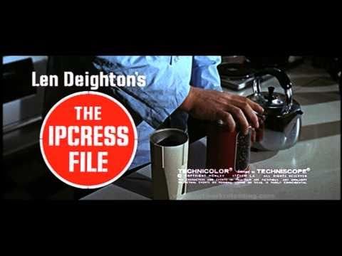 The Ipcress File - John Barry opening credits music