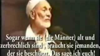 Ahmed Deedat - Warum dürfen Männer 4 Frauen heiraten (im Islam)