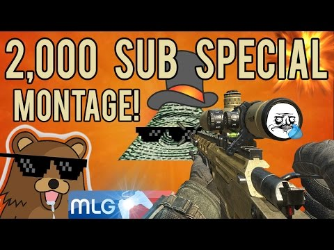 MLG 2K Sub Special | Montage Parody