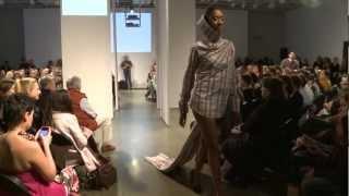 Défilé collectif des finissants en design de mode 2012