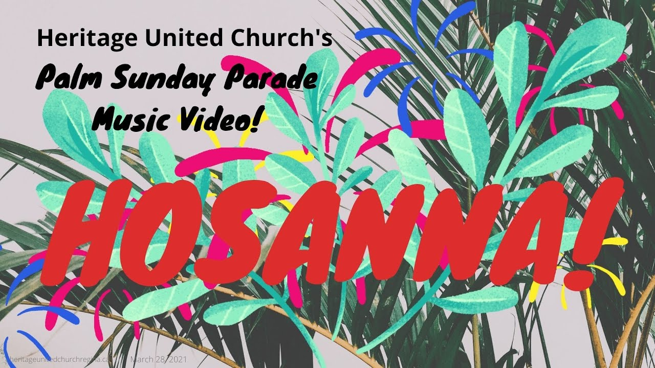 Palm Sunday Parade Music Video!