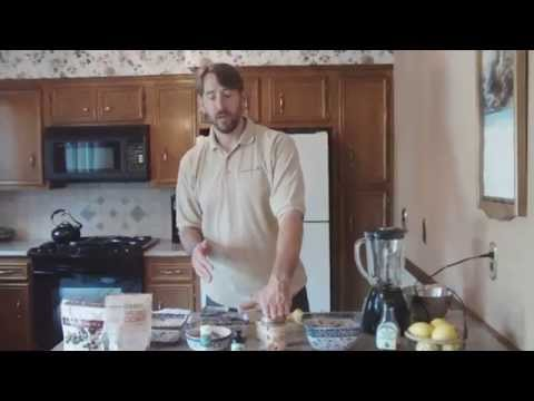 GFCF RECIPE and Demo - Cooking for Autism with Chef Paul Cimins of Autism Radio 501c3 Donations