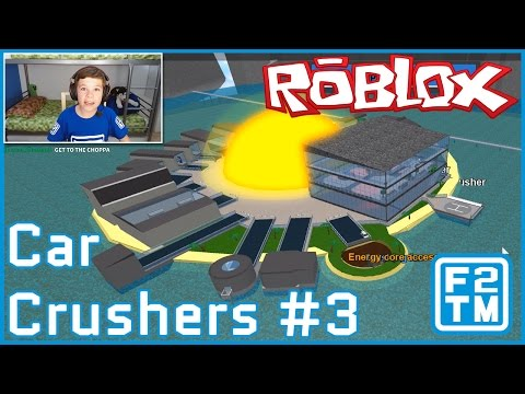 Roblox Car Crushers #3 (I NUKE THE ISLAND) / Energy Core