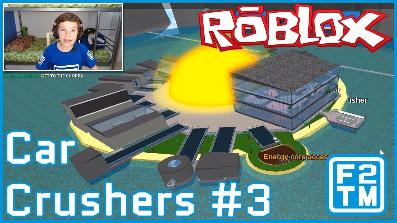 car crusher game roblox
