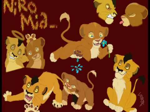 lion king simba and nala mating