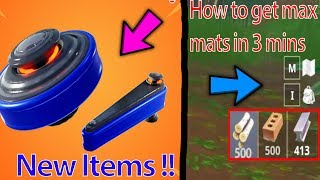 Comment obtenir Max Wood, Brick And Metal en 5 mins Fortnite Nouveaux articles !!