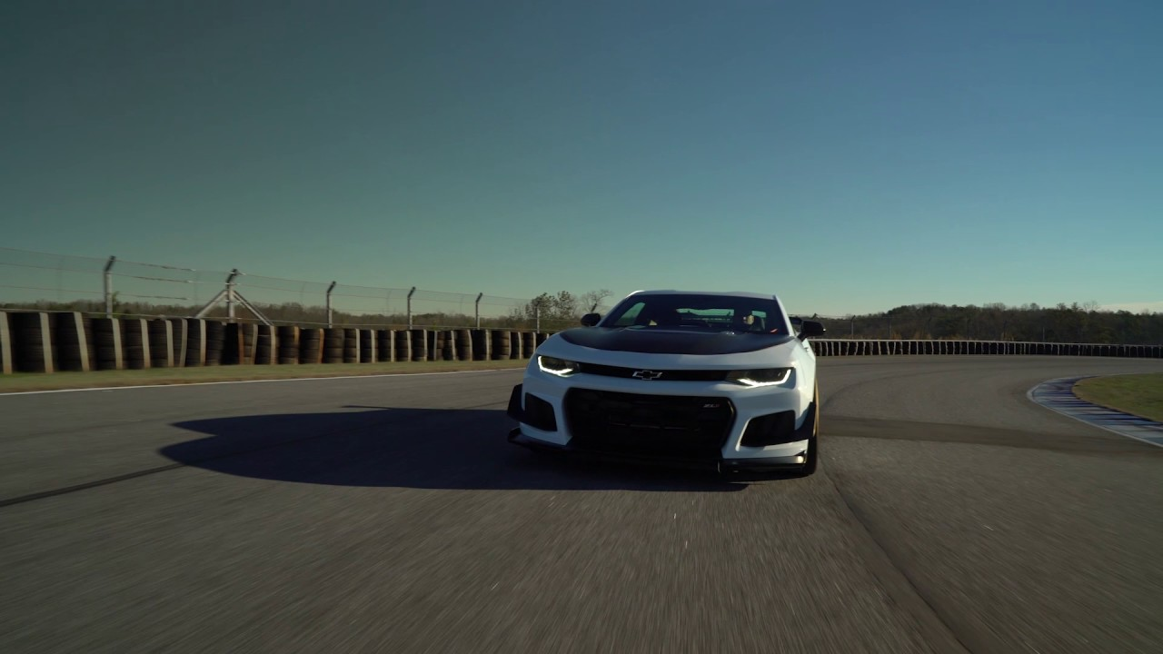 2018 Camaro Zl1 1le Youtube