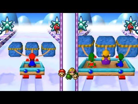 Mario Party 3 - All 2-vs-2 and 1-vs-3 Minigames