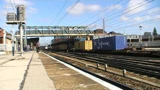 trains and tones at doncaster station part 1 of 3 26/9/09