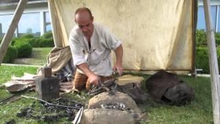 Jean-Marc Gillet (Fer et savoir-faire) - Un forgeron gaulois au travail