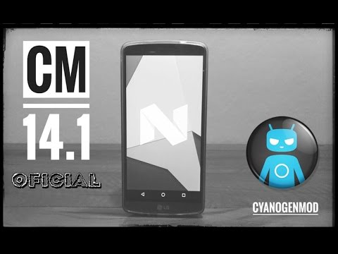 CM 14.1 CyanogenMod 7.1 Oficial - LG G3/G4 - Moto G 2013/14 - Galaxy S5 - Nexus 5X/6P OnePlus 3 e +