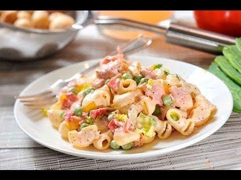 Como hacer ensalada de coditos con atun youtube - Ensalada de arroz con atun ...