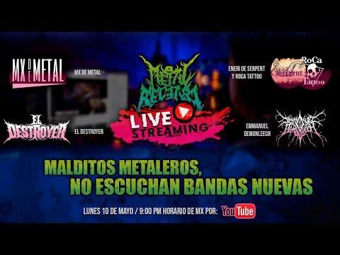 MALDITOS METALEROS, NO ESCUCHAN BANDAS NUEVAS / Stream 🔥
