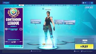 Fortnite 10dollar psn card at 155 subscribers areana gameplay