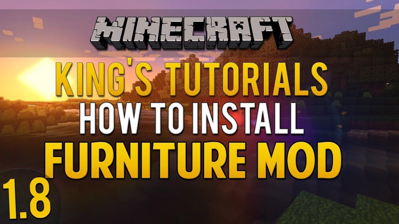 How To install mrcrayfish Furniture mod 1 7 10
