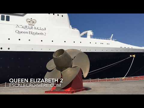 Queen Elizabeth 2 - QE2 Hotel Cruise ship Tour