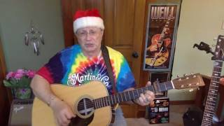 262b -  Pretty Paper -  Roy Orbison Willie Nelson vocal & acoustic guitar cover