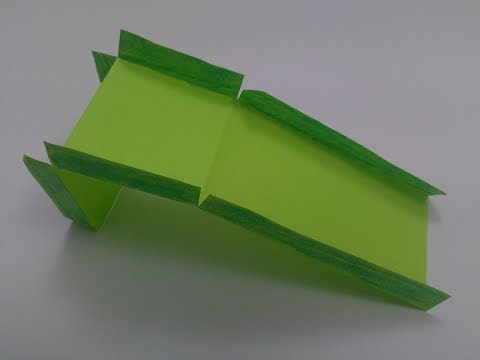 How To Make An Origami Slide