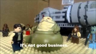 Lego Star Wars Han and Jabba