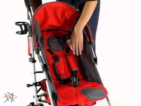 Chicco Liteway Umbrella Stroller Fuego - Product Review Video ...