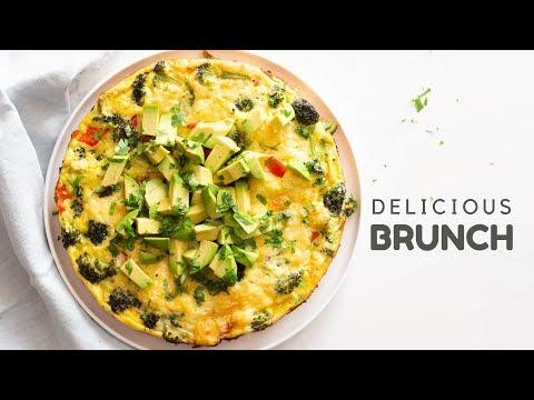 Vegetable Frittata   Delicious Brunch Idea