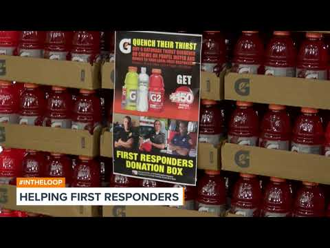 Brookshire's Helping First Responders by Taking Hydration Donations