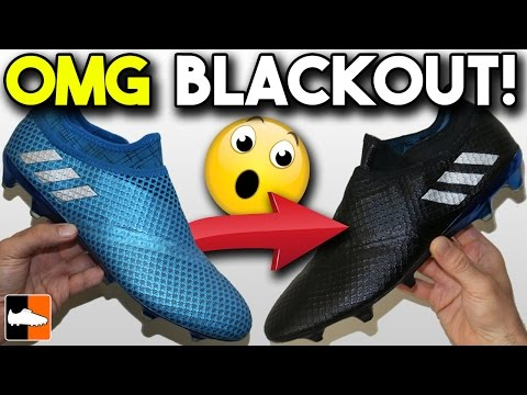 Black adidas Messi Boots?! How to Blackout Pureagility Cleats