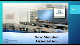 New Members Orientation pt1
