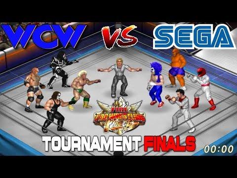 WCW VS SEGA: Fire Pro Wrestling World Tournament Finals