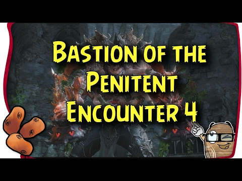 Guild Wars 2 - Bastion of the Penitent Beating Deimos  & Healing Elementalist Flak Technique