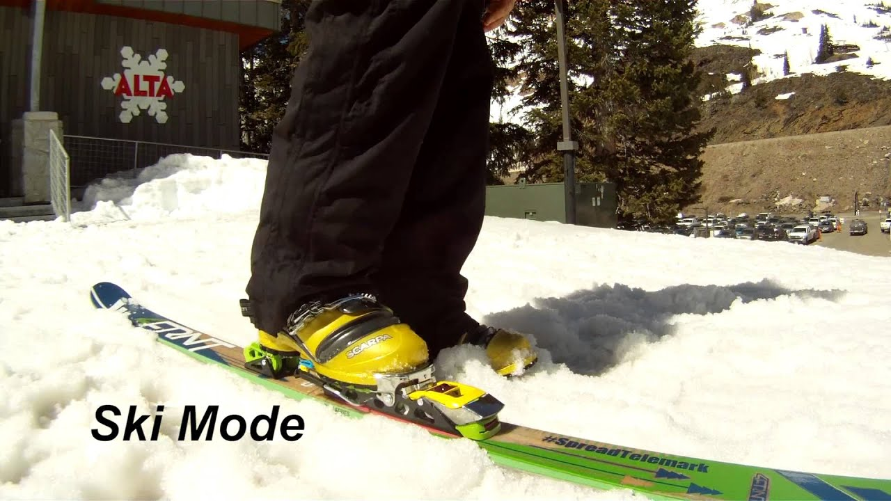 4674fd5f51f4 ROTTEFELLA NTN FREERIDE COLOR EDITION - TELEMARK BINDING - YouTube