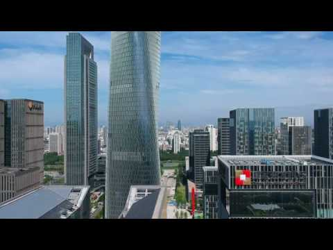 Ningbo, China | Paradise City | Amazing Views And Buldings of China | Airvuz