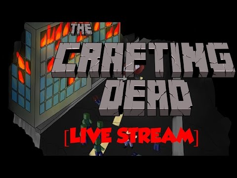 ZOMBIES, GUNS, and DEATH! | Minecraft Crafting Dead Seaport