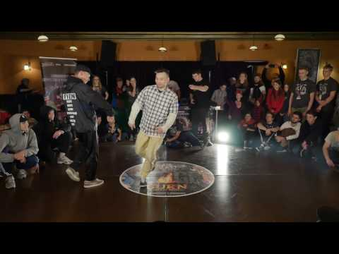 Toprock 1vs1 Bboy Deni (LT) vs Bboy Kree (LT) @Vilnius Street Battle 2017