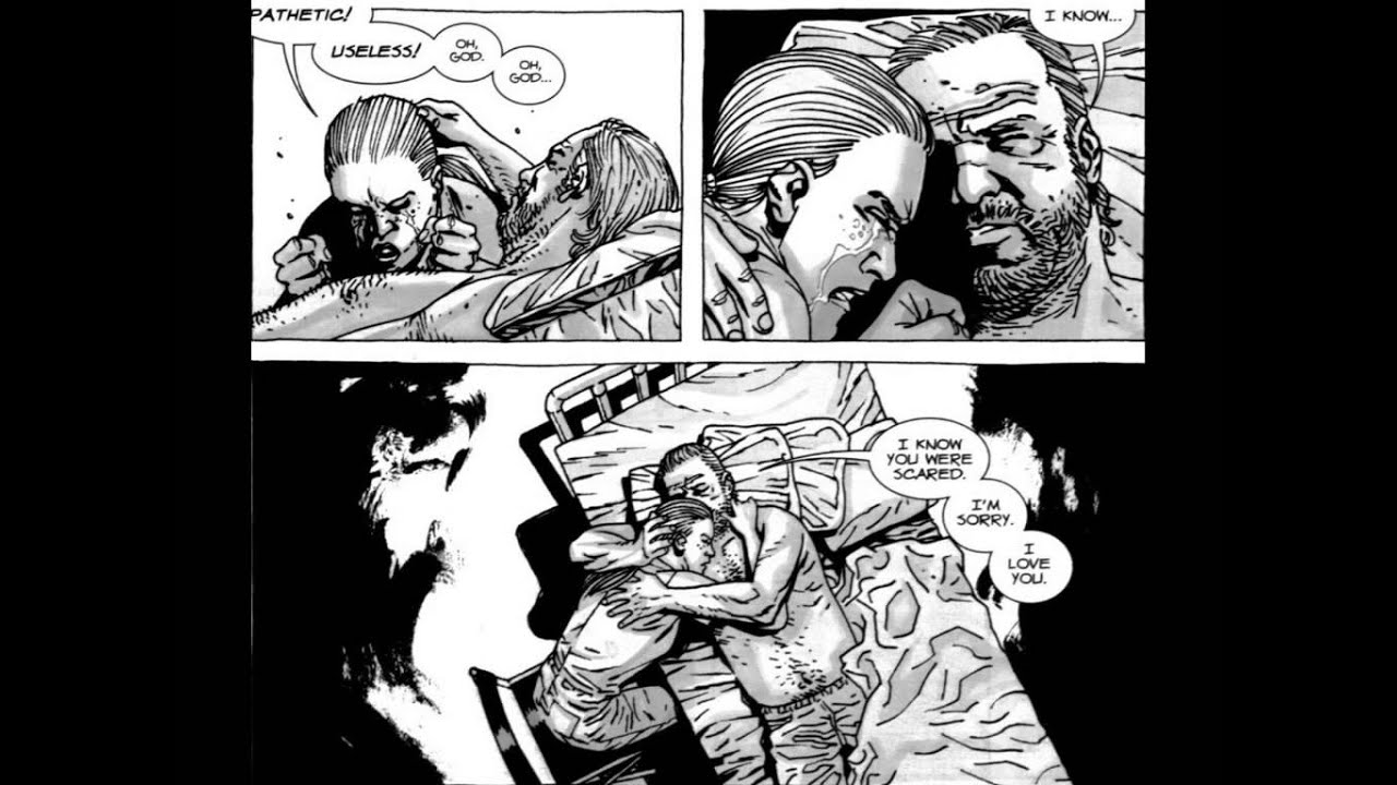 Andrea The Walking Dead Comic