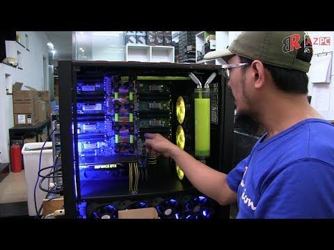 Quá nhiều máy khủng để render film 4k 8k tại AZPC | Full quad E7-8890 V4 V3 for rendering
