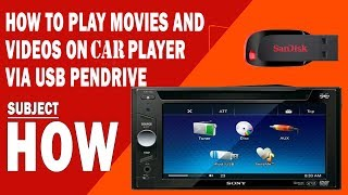 What Video format/converter to use to play USB video in CAR