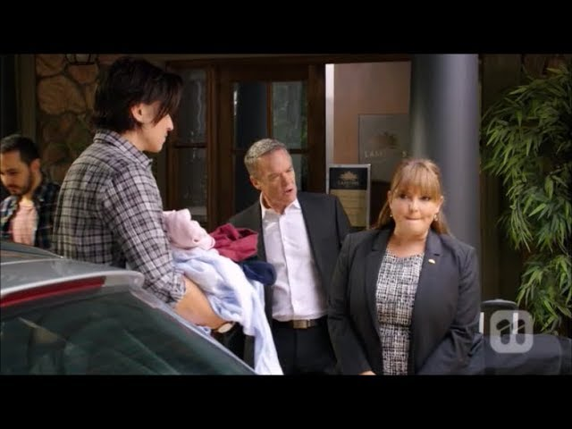 Leo, Terese, Paul, Elly, Mark, David scene ep 7955