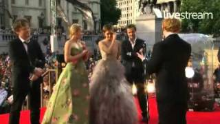 Harry Potter and the Deathly Hallows Pt.2 - World Premiere - Cast