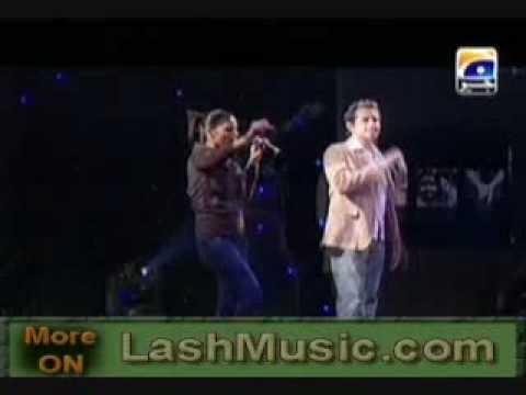 Hadiqa Kiani and Irfan Khan sing their 2010 hit song Janan Live