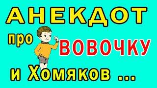 Анекдот СМЕШНОЙ про Вовочку и Хомячков Самый СМЕШНОЙ