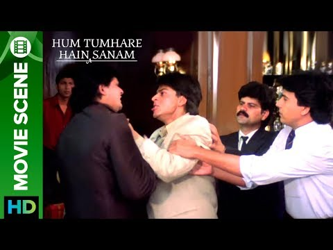 Shahrukh Khan gets into a bar fight - Hum...