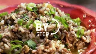 How To Make Dirty Rice, Dirty Rice Recipe, Recipe For Dirty Rice, Cajun Dirty Rice Recipe