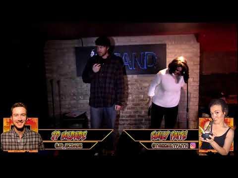 The RoastMasters Winter Tournament Round 1:  2.7.18: J.P. McDade vs. Emily Faith