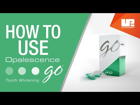 How To Use Opalescence Go Professional Teeth Whitening