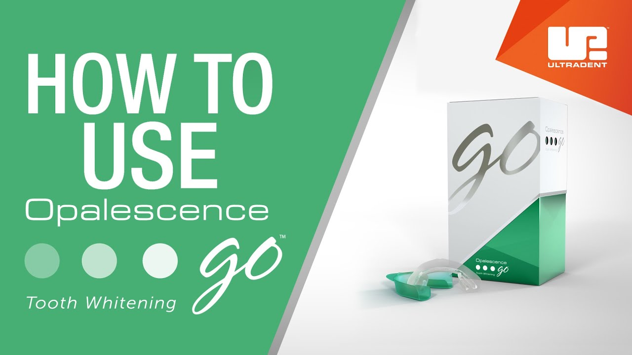 How To Use Opalescence Go Professional Teeth Whitening Youtube