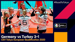 #RoadToTokyo  | Germany 3-1 Turkey - Match Highlights